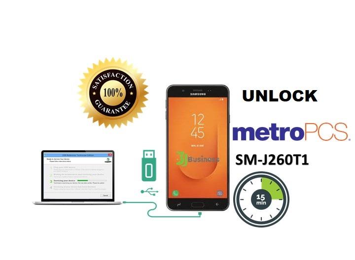 How To Unlock Samsung J2 Core J260T/T1 with SAMUnlock